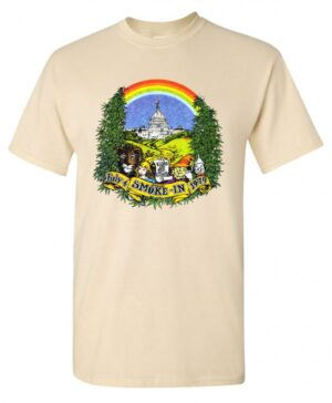 Hippo-Tees, Smoke In, natural, t-shirt