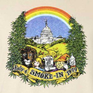 Hippo-Tees, Smoke In, natural, t-shirt-zoom