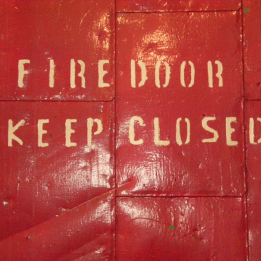 The Surreal Fire Door