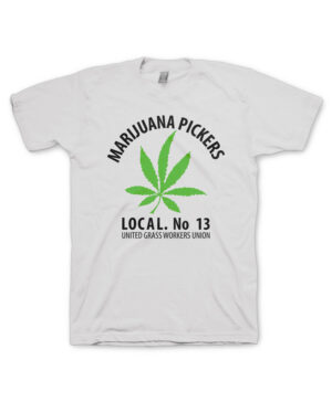 Hippo-Tees, Marijuana Pickers tee-shirt