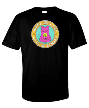Hippo-Tees Livin' on the Fringes tee shirt