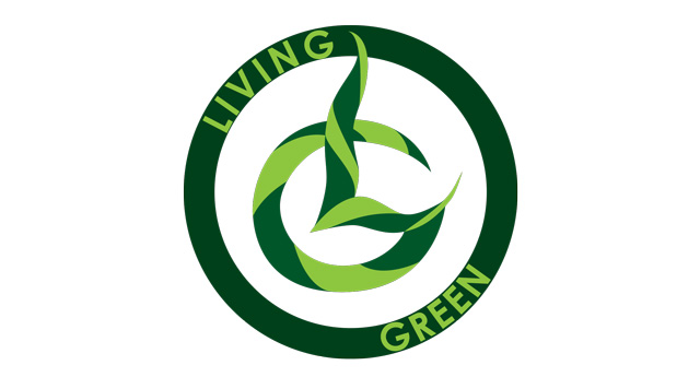 Living Green Sticker