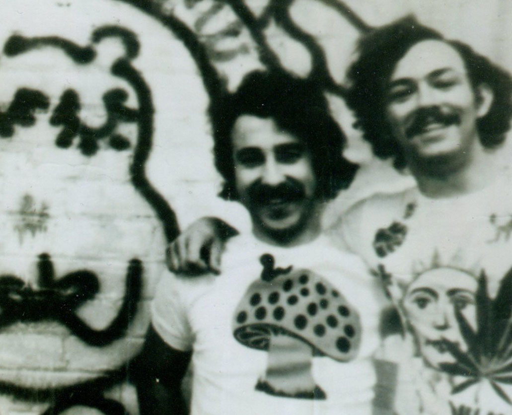 Hip-O-Potamus Founders, Jeffrey Axelrod (left) and Barry Anderson (right), circa 1970