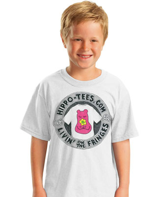 Kid's Hippo-Tees logo tee shirt